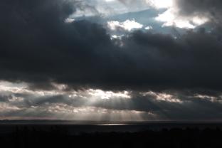 Clouds over Jutland.
