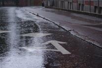 Rainy day in Lund