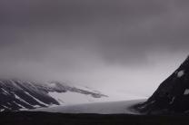Heaven meets the glacier in Sarek National Park.