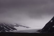 Heaven meets the glacier in Sarek National Park.