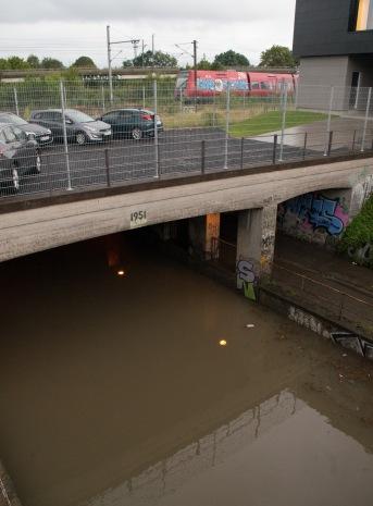 Flooding in Copenhagen 31st of August 2014