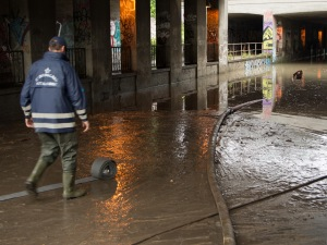 Flooding in Copenhagen 31st of August 2014
