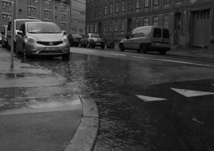 Pluvial flood in Copenhagen August 2014