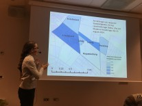 Johanna Sörensen pratar om sin studie om blå-grön infrastruktur och översvämningar.